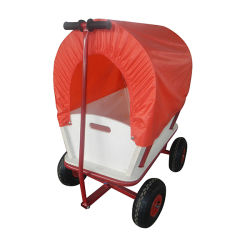 Carrito de vagón de Jardín de Niños Los niños a lo largo de tirar del carro carro de juguete Juego de jugar al aire libre