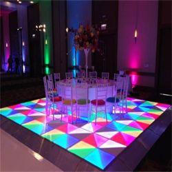 1*1m het Hoogtepunt kleurt RGB LEIDEN Dance Floor voor de Disco van het Stadium