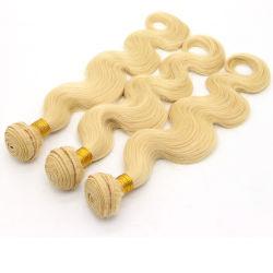 Pur organisme brésilien vague 613 Vierge de couleur blonde Hair Extensions