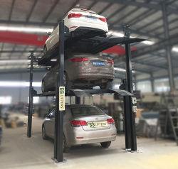 Elevador Estacionamento Empilhamento triplo/carro Elevador Estacionamento 3 Estacionamento Hidráulico / Sistema de plataforma