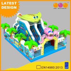 Aquarium-Prahler-Plättchen-aufblasbares Spiel-Spielzeug für Kinder mit preiswertem Preis (AQ01748)