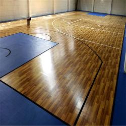 Оэс горячие продажи Установите противоскользящие спортивные полы крытые баскетбольная Spc пол Пол из ПВХ
