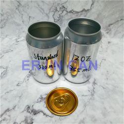 Contenitore per bevande in alluminio Vuoto di tipo 250ml 330ml 500ml diverso