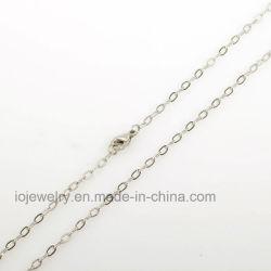 Colar de venda quente de fábrica 925 Corrente de prata esterlina