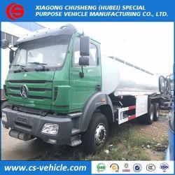 Beiben/HOWO 6X4 20000L brandstof/olie Tankwagen Transport met dispenser