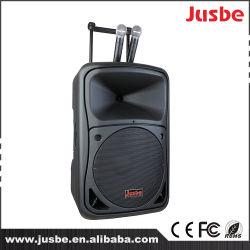 Juste 12 pulgadas 300 vatios bluetooth USB MP3 DJ Música Reproducción Audio Profesional Sistema de Sonido portátil Trolley Active Speaker