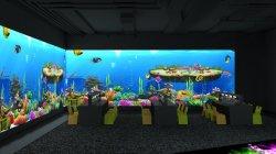 Gooest pared pintura proyector interactivo juego Magic Malecón proyección para el Centro para Niños
