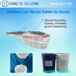 Plantilla de silicona de cuidado de los pies haciendo de caucho de silicona líquido, gel de silicona