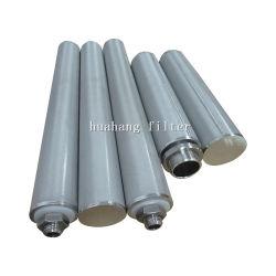 DOE/M30/M40 Personalizada de Fábrica Sinterizado Filtro de Pó de Aço Inoxidável Filtro de metal para produtos químicos de filtração de líquidos