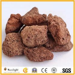 Основная часть оптовая торговля природным красный/черный/серый вулканических извержений, Pumice люка камнеуловителя, камень для аквакультуры/ крыши дренажных сырьевых материалов