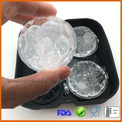 4 différents en silicone à bille Ice Cube Maker