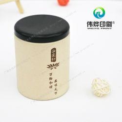 precio de fábrica impresión de alta calidad decorativa redonda té Caja de embalaje