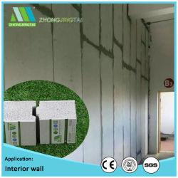 Cemento de materiales de construcción de paneles sándwich EPS100mm para techo/pared