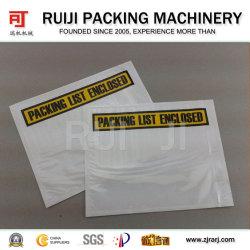 lista de embalagem automática máquina de fazer o saco do envelope para UPS