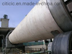 Цементного клинкера продукт Calcined вращающаяся печь для цементного производства