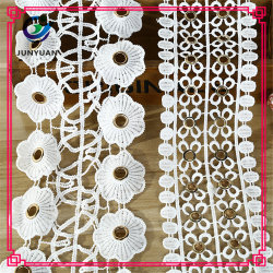 Утеска шнурка одежды шнурка хлопка горячего высокого качества сбывания Crocheted