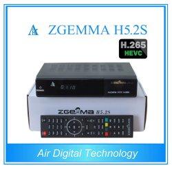 La ricevente satellite alta tecnologia Zgemma H5.2s di Digitahi si raddoppia sintonizzatori gemellare di OS E2 DVB-S2+S2 di Linux di memoria con Hevc/H. 265