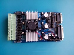 3 Eje TB6560 3.5A Junta controlador CNC máquina de grabado del motor paso a paso 16 segmentos de pasos del controlador del motor