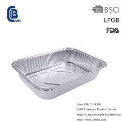 [ألومينوم فويل] مستهلكة يطبخ تحميص يشوي صينيّة وعاء صندوق