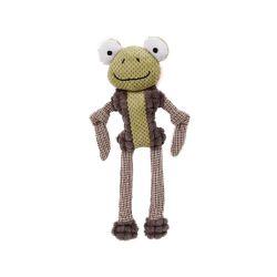 Adorável Novo Design suave Frog forma estridente Brinquedos Pet para cães de pelúcia