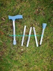 十分に折られる携帯用歩く杖の棒の5部式