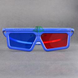 En plastique rouge Cyan lunettes 3D (SN3D 030P)