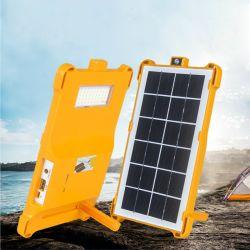 Interfaz USB Portable de emergencia exterior lámpara de lectura de la luz de Lámpara de Camping de la luz solar