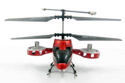 4 canal hélicoptère Gyro Mini W/