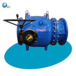 Cuerpo de hierro dúctil de Control de flujo tipo pistón de regulación de descarga de Howell Bunger émbolo la válvula de aguja en la Central Hidroeléctrica