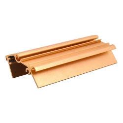 Canal do tubo de vidro de canto de cozinha Linear Perfis Leves Windowblack 2020 U perfil de alumínio de alumínio de extrusão para Faixa de LED