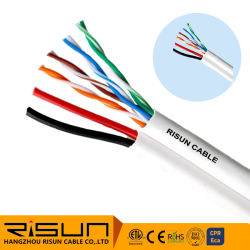 LAN Cat5e Siam Kabel mit 2c/18AWG Power Wire 305m/Roll Holz Rollenverpackung