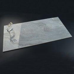 1500X750 큰 슬랩 핫 세일 저렴한 가격 디자인 인테리어 리빙 객실 침실 그레이 대리석 포르첼랭 광택 호텔 빌라 빌딩 포르첼랭 바닥 벽 타일