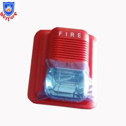 Alarma visual de audio convencional de 12V, alarma de incendio las luces estroboscópicas