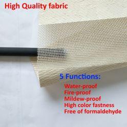 Fenster-Vorhang-Dekoration-Plastik-Material Tb2 der Zebra-Vorhänge