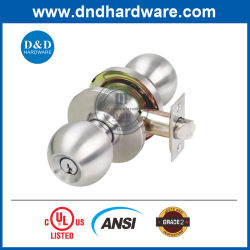 Огонь номинальной UL твердых ANSI класс 2 трубчатых круглую ручку Lock-Set для задней двери