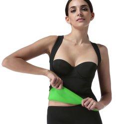 남자 여자를 위한 내오프렌 셔츠 조끼 바디 셰이퍼 운동 허리 조련사 적당 스웨트 셔츠를 체중을 줄이는 최신 땀