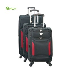"""20"""" 24"""" 28"""" 32"""" 4PCS ensemble extensible Trolley de Voyage bagages avec deux grandes poches Spinner roues"""
