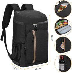 Refrigerador isolados Backpack estanques leve espaçosos Soft Saco térmico Backpack para Homens Mulheres para viagens de trabalho caminhadas Beach