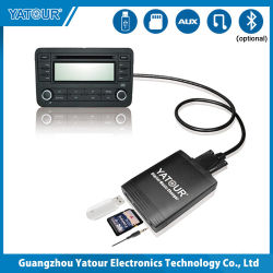 Professional coche MP3 Yatour cambiador de música digital y las interfaces de coche Bluetooth YT-M06
