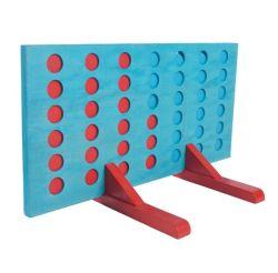 Il gigante intellettuale del giocattolo dei nuovi giocattoli di legno di arrivo connette il divertimento quattro in un gioco di riga