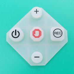 Personalize a indústria automóvel usado em borracha de silicone teclado (113548)