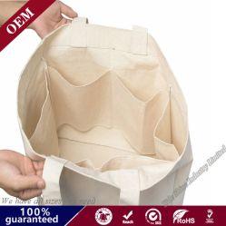 Bio-Degradable Леди сумки большое полотно сумки через плечо пляж брелоки Сувениры рекламы Canvas хлопка подушки безопасности