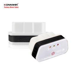 Super Mini OBD2 сканер WiFi Bluetooth V1.5 Elm327 с устойчивый сигнал Konnwei