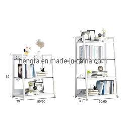 De Boekenplank van de Woonkamer van het Kabinet van het Metaal van het Frame van de Opslag van de Kasten van het bureau