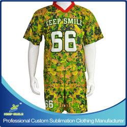 Costume de sports de crosse de sublimation personnalisé