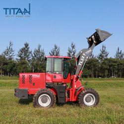 Fabrication OEM Titanhi lourd avec le chargeur du tracteur de ferme avec de faibles coûts de fonctionnement