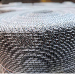 Fabrik-Großhandelsstacheldraht heißes BAD galvanisiertes Edelstahl-elektrisches geschweißtes Ineinander greifen