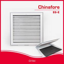 Системы кондиционирования воздуха в системе отопления Eggcrate решетки со съемными Core