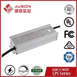 Juson Lps Série 120W o Condutor LED 27-54V IP65 Corrente Constante levou a fonte de alimentação