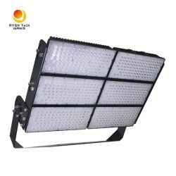 Anti-deslumbramiento 1500W Instalaciones deportivas Iluminación 160lm/W LED Estadio lámpara de inundación